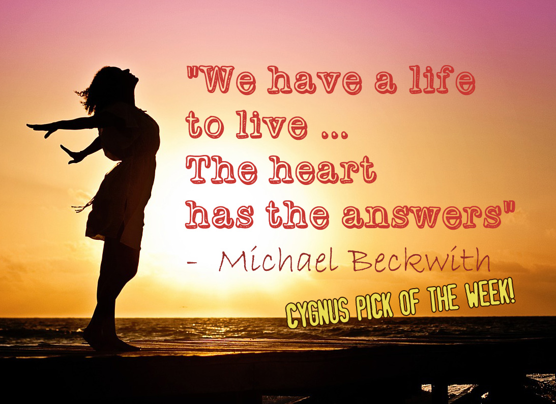 Power of the Heart - Michael Beckwith quote