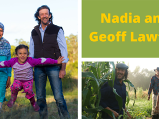 Geoff and Nadia Lawton