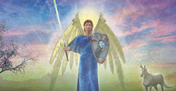 Archangel Michael by Damian Keenan