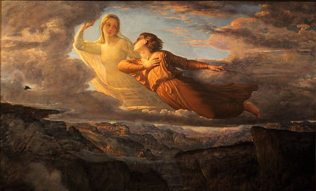 Poem of the Soul - Ideal by Louis Janmot [1854]